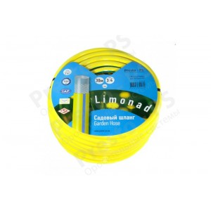 Шланг поливочный Presto-PS садовый Limonad диаметр 3/4 дюйма, длина 30 м