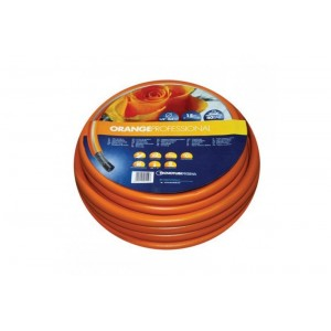Шланг садовый Tecnotubi Orange Professional для полива диаметр 3/4 дюйма, длина 50 м