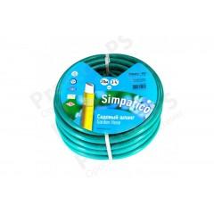 Шланг поливочный Presto-PS садовый Simpatico (синий) диаметр 3/4 дюйма, длина 20m