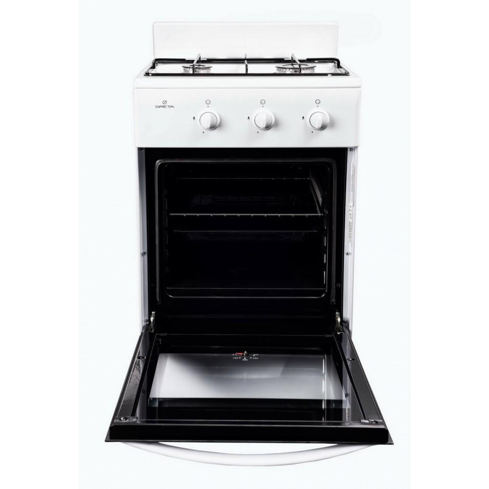 Газовая плита GRETA 1201-10 (белая)