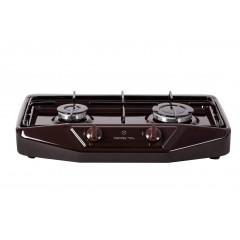 Настольная плита GRETA-1103 (коричневая, таганок)