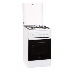 Газовая плита GRETA 1470-00-07 (чугунная решетка, белая)