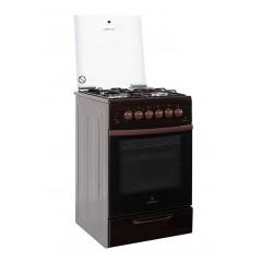 Комбинированная плита GRETA 1470-ГЭ-00 (коричневая)