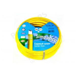 Шланг поливочный Presto-PS садовый Simpatico диаметр 3/4 дюйма, длина 50 м