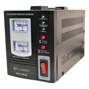 Стабилизатор напряжения luxeon avr-500va