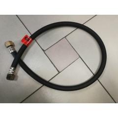 Газовый шланг черный (гайка сталь) 100 см