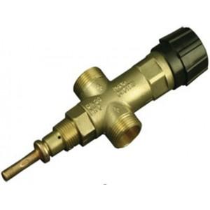 Одноходовой охлаждающий предохранительный клапан JBV -1/2 - 3/4, защита от перегрева для котлов с охлаждающим теплообменником