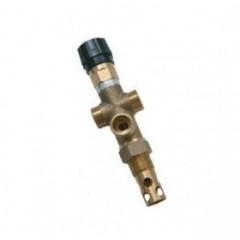 Двухходовой охлаждающий предохранительный клапан DBV - 1 - 3/4, защита от перегрева для котлов без охлаждающего теплообменника