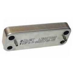 Пластинчатый вторичный теплообменник ZILMET 10 пластин BAXI