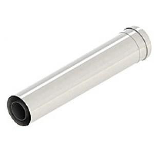 Коаксиальный удлинитель ф 60/100 Al+Fe, L=500mm