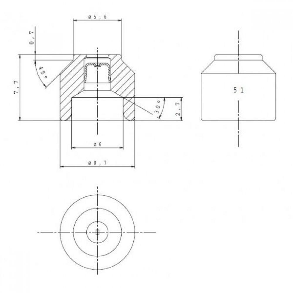 Инжектор (160 серия, маркер. 51, ф - 0,51 прир)