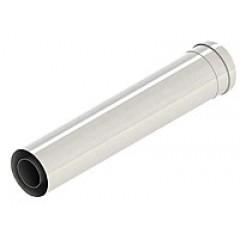 Коаксиальный удлинитель ф 60/100 Al+Fe, L=1000mm