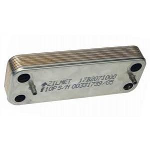 Пластинчатый вторичный теплообменник ZILMET 14 пластин BAXI
