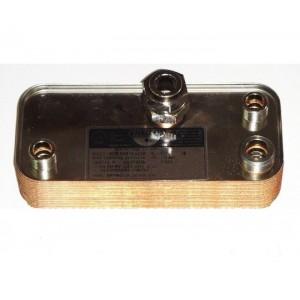 Пластинчатый вторичный теплообменник ZILMET 15 пластин IMMERGAS